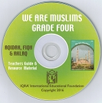 Teacher's Manual: We are Muslims Grade 4 CD-ROM