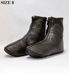 Leather Socks with Zipper (Khuff) Size 12