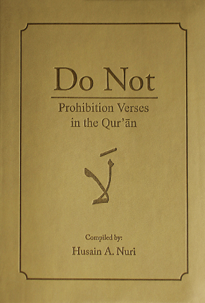 Do Not:Prohibition Verses