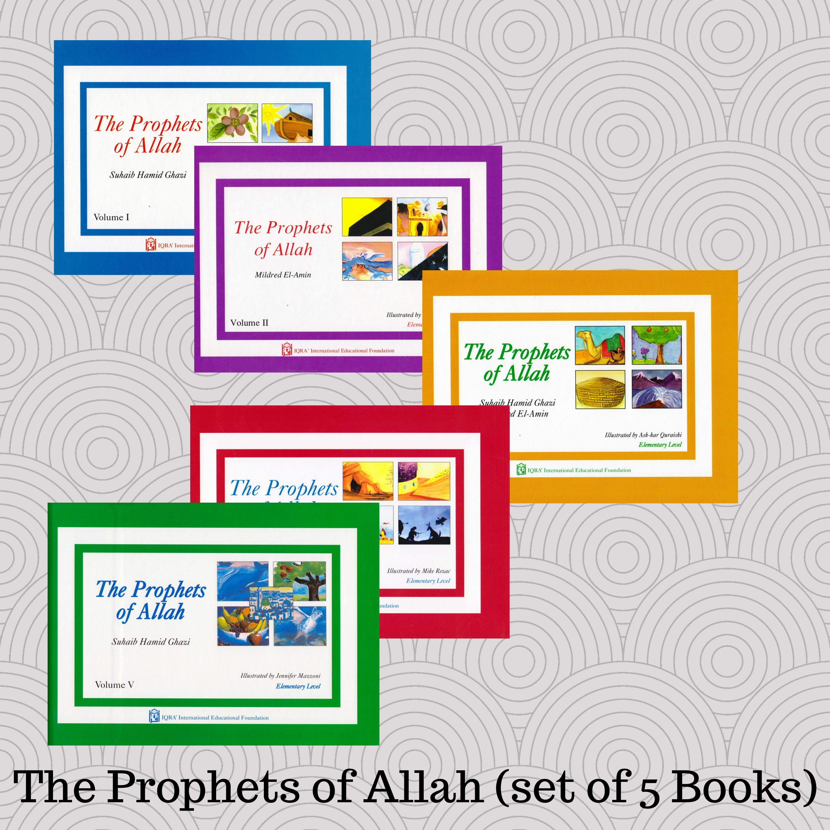 The Prophets of Allah (set of 5 Books)
