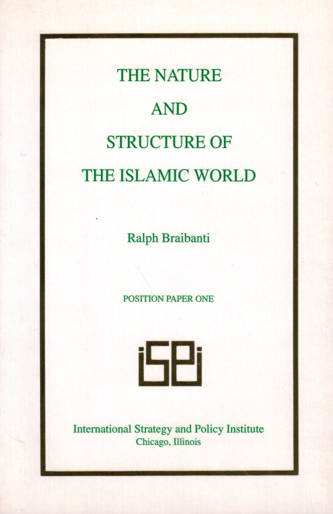 Nature and Structure Islamic World