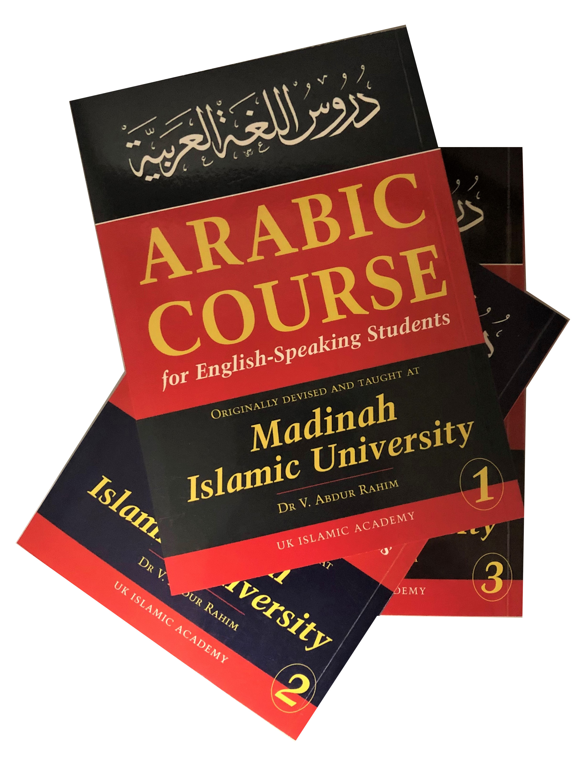 Arabic Course for English Speaking Students 3 Volume Set