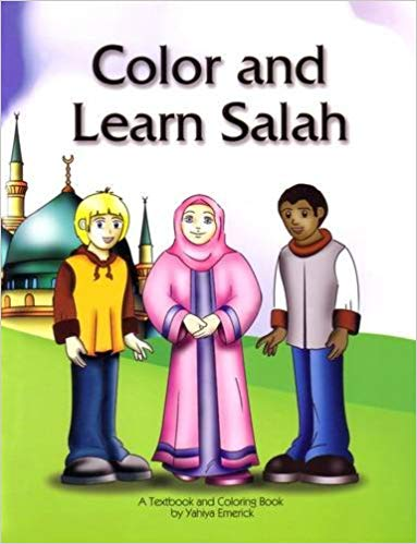 Color And Learn Salah-Yahiya Emerick