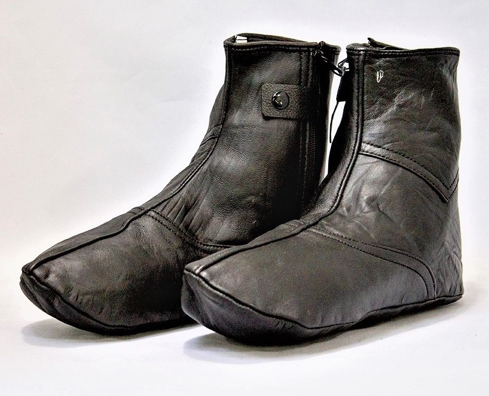 Leather Socks with Zipper (Khuff)