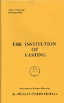 The Institution of Fasting