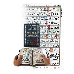 13 Line Qur'an with color coded Tajwed Rules-IBS