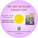 Teacher's Manual: We are Muslims Grade 1- CD-ROM