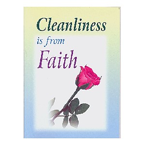 Cleanliness is from Faith- Booklet
